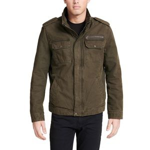 Levi's Stand Collar Military Jacket